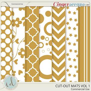 CU Cut-Out Mats Vol 1 by Ilonka's Designs