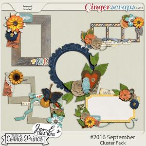 #2016 September - Cluster Pack