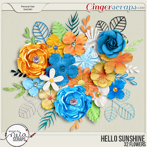 Hello Sunshine - Flowers - by Neia Scraps