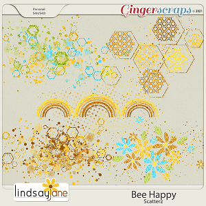 Bee Happy Scatterz by Lindsay Jane
