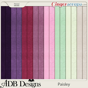 Paisley Solids by ADB Designs