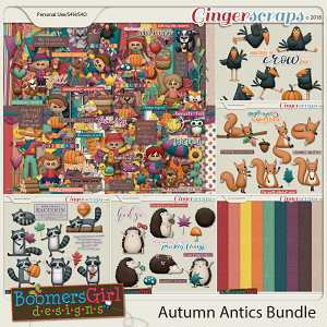 Autumn Antics Bundle by BoomersGirl Designs