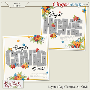 Layered Page Templates ~ Covid