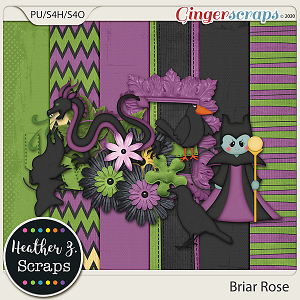 Briar Rose VILLAIN ADD-ON by Heather Z Scraps