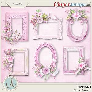 Hanami Cluster Frames by Ilonka's Designs