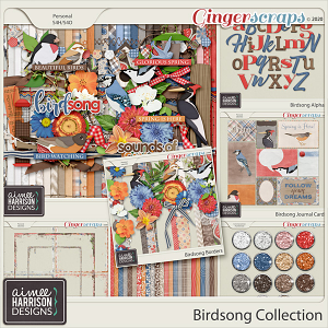 Birdsong Collection by Aimee Harrison
