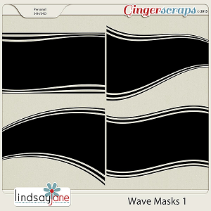 Wave Masks 1 by Lindsay Jane