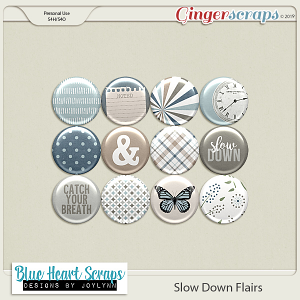 Slow Down Flair Pack