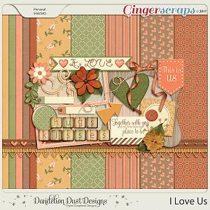 I Love Us By Dandelion Dust Designs