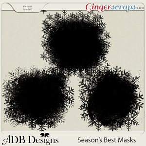 Season's Best Masks by ADB Designs