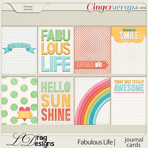 Fabulous Life: Journal Cards by LDragDesigns