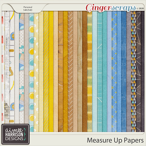 Measure Up Paper Pack by Aimee Harrison