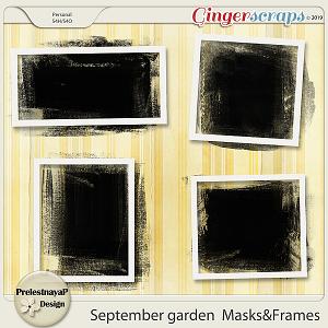 September garden Masks&Frames