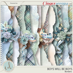Boys Will Be Boys Borders by Ilonka's Designs