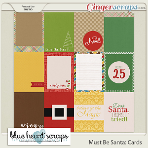 Must Be Santa Journal Cards