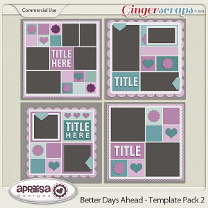 Better Days Ahead - Template Pack 2