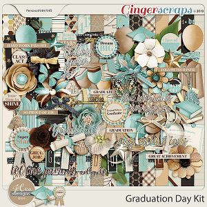 Graduation Day Kit with Alpha by JoCee Designs