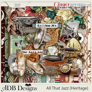 All That Jazz Page Kit
