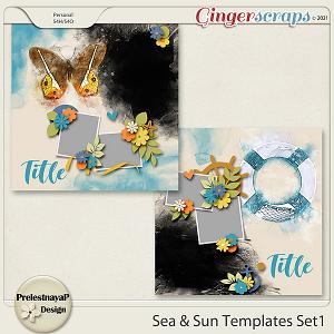 Sea & Sun Templates Set1