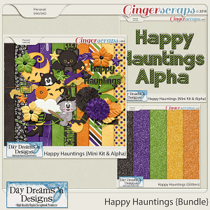 Happy Hauntings {Bundled Mini Collection} by Day Dreams 'n Designs