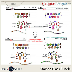 Stained Glass Styles Bundle by Karen Schulz