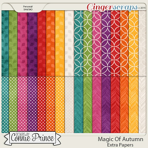 Magic Of Autumn - Extra Papers