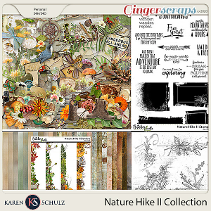 Nature Hike II Collection by Karen Schulz