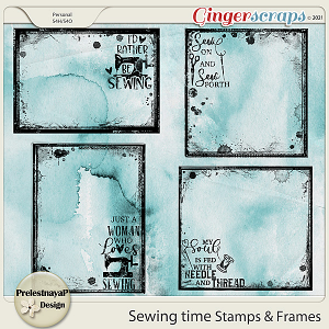 Sewing time Stamps & Frames