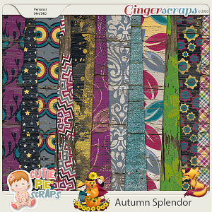 Autumn Splendor Wood Papers