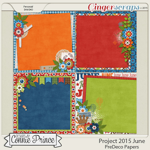 Project 2015 June - PreDeco Papers