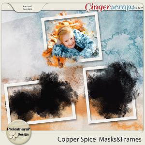 Copper spice Masks&Frames