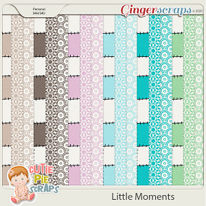 Little Moments Pattern Papers