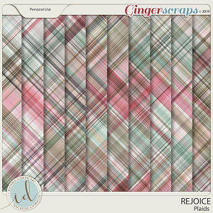 Rejoice Plaids by Ilonka's Designs