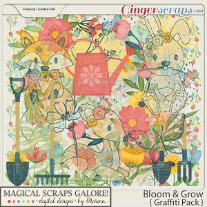 Bloom & Grow (graffiti pack)