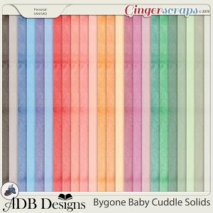 Bygone Baby Cuddle Solids by ADB Designs