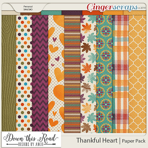 Thankful Heart | Paper Pack
