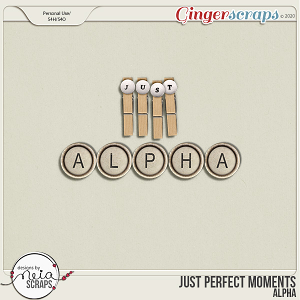 Just Perfect Moments - Alpha - by Neia Scraps