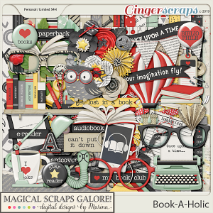Book-A-Holic (page kit)