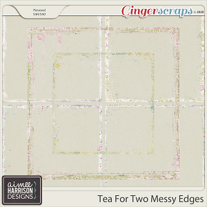 Tea for Two Messy Edges by Aimee Harrison