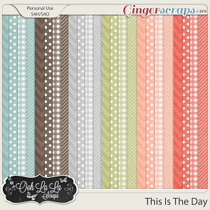 This Is The Day Patterned Papers