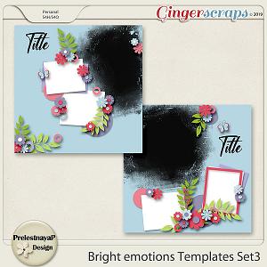 Bright emotions Templates Set3