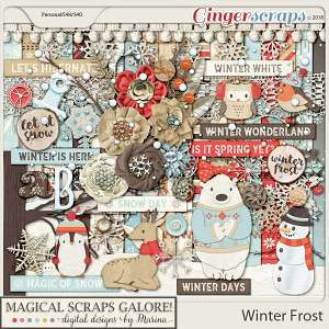 Winter Frost (page kit)