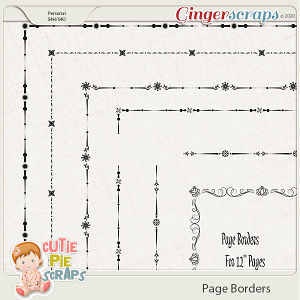 Page Borders 46 By Cutie Pie Scraps