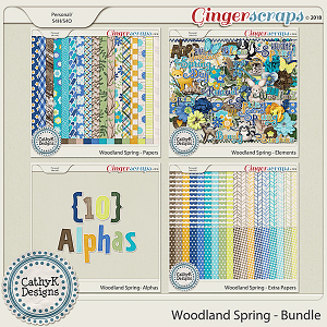 Woodland Spring - Bundle