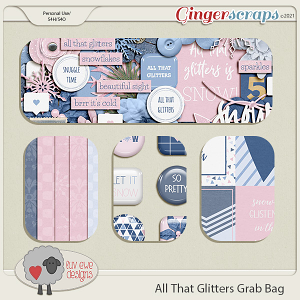 All That Glitters Grab Bag by Luv Ewe Designs