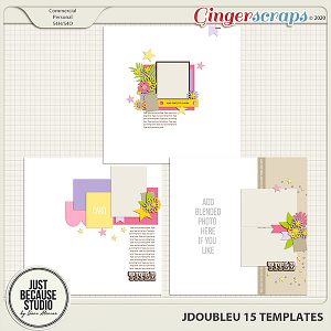 JDoubleU 15 Templates by JB Studio