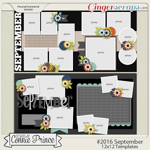 #2016 September - 12x12 Template Pack (CU Ok)