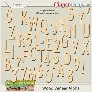 Wood Veneer Alpha by Clever Monkey Graphics