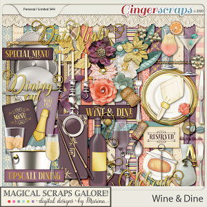 Wine & Dine (page kit)