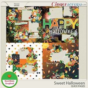 Sweet Halloween - Quick pages